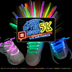Let it glow, let it glow, let it glow! Run safely at night this Saturday while glowing and showing your support for the Square Society. Proceeds benefit Center in the Square. In true Square Society style there will be an after party with free food. Race start is 8:30 p.m. Registration information http://squaresociety.org/drupal/news-events/light-night-5k-runwalk