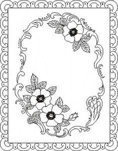 Pergamano šablony - free pattern - Kateřina Horáková - Picasa Web Albümleri