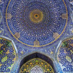 Imam (Shah) Mosque in Isfahan, Iran. View more images at: http://islamic-arts.org/2012/imam-shah-mosque-in-isfahan-iran/
