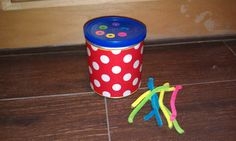 Color match push, for fine motor skills