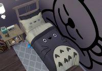 Black Bedding Romantic - Fall Bedding Photography October - - Fabric Platform Bedding - Bedding DIY Videos Present - The Sims, Sims Cc, Boho Bedding, Linen Bedding, Black Bedding, Bedding Ceremony, Sims 4 Beds, Master Suite, Sims 4 Anime
