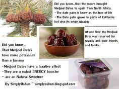 Make your own Alternative Sweetener from MEDJOOL DATES