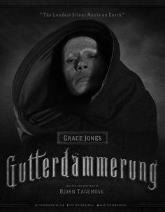 """Trailer do filme """"Gutterdämmerung"""" – e seu elenco de rockstars. #fridom #gutterdammerung #music #rock #gracejones"""