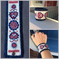 Ett nytt armband har fått se dagens ljus. Trots mina känslor för Dalarna så är jag ju också Västgöte ! Detta är en ödmjuk tolkning av Västgö...