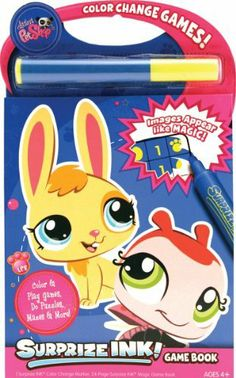 014 65 Giddy Up Brand New Item Unopened Product 824094014657 Surprize Ink Activity Book Use The Mess Free Marker To Magically