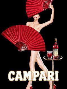 A series of Campari Ads