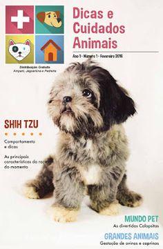 Dicas e Cuidados Animais (BR) Nº 1 - Fevereiro 2016   Revistas e Jornais