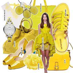 Mode, optez pour le jaune !