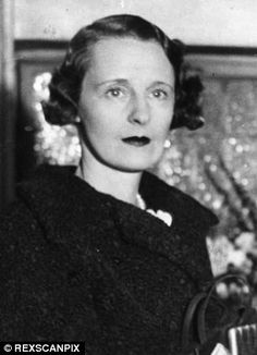 Freda Dudley Ward, former girlfriend of Prince Edward VIII, who died in 1983 at the age of 88.