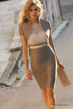 Wholesale Mother of the Bride Dress - Buy Sheath/Column Knee-Length Mother Of The Brude Dresses Short Sleeve T-Shirt With Sash Beads 2014 Hot Selling $107.44   DHgate