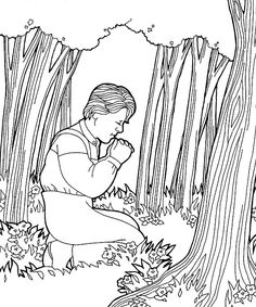1000 images about lds first vision on pinterest joseph for Coloring page of the first vision
