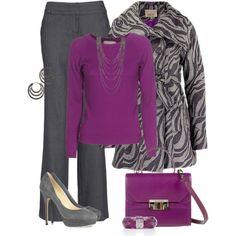 Purple and Zebra