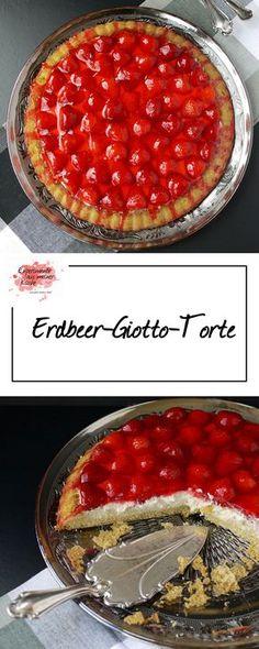Erdbeer-Giotto-Torte | Backen | Rezept | Kuchen