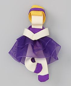 Take a look at this Purple Blonde Princess Clip on zulily today!