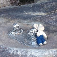 Lost on 27 Feb. 2016 @ On the way from Manly Beach to Sydney, Australia. On February, 27, Saturday, 5 inch tall toy rabbit Stepan in blue handmade pants was lost on the way from Manly Beach to Sydney. He might be found either on Manly Ferry, or on the Harbor bridge, or ... Visit: https://whiteboomerang.com/lostteddy/msg/9mlaqf (Posted by Maria on 28 Feb. 2016)