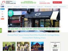 #Central Park Sightseeing - Buy One Get One Free Central Park Bike Rentals.