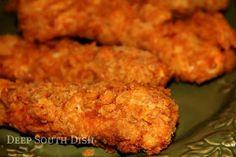 Deep South Dish: Crunchy Saltine Chicken Tenders
