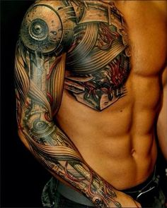 That is the one of the most awesome Tattoo I ever seen... Let's remember The Terminator!