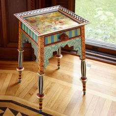 MacKenzie-Childs - Teteria Side Table