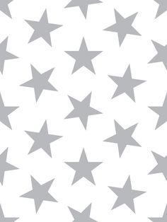 Retro Wallpaper Discover Lucky Star Wallpaper in Silver Metallic by Marley Malek Kids Her Wallpaper, Kids Wallpaper, Modern Wallpaper, Pattern Wallpaper, Cute Laptop Wallpaper, Macbook Wallpaper, Drops Patterns, Star Patterns, Photo Wall Collage