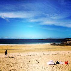 Glassilaun Beach, Connemara, Co Galway #WildAtlanticWay