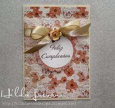 Hilda Designs: ROMANTICA TARJETA