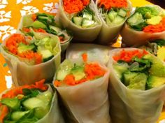 Epifurious - Cucumber and Avocado Summer Rolls