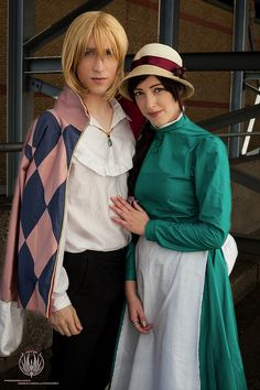 Howl's Moving Castle - Amazing costumes, but they don't really look like Howl and Sophie-the actual characters are younger
