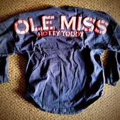 Ole Miss Hotty Toddy Spirit Jersey - JCgraphics