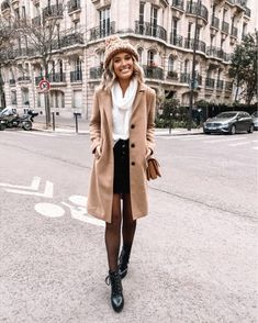 October Outfits, Outfits Spring, Fall Outfits For Work, Winter Fashion Outfits, Fall Winter Outfits, Winter Fashion Street Style, New York Winter Fashion, Christmas Outfits, Outfit Summer