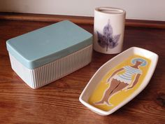 HORNSEA POTTERY Small Retro COLLECTION (Clappison)