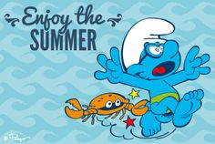 Blue Magic, Graphic Design Illustration, Smurfs, Cartoons, Animation, Drawings, Disney, Board, Summer