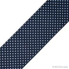 polka dot elastic