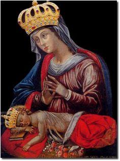 Obraz Madonny Gregoriańskiej – Matki Bożej z Guadalupe - Szukaj w Google