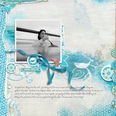 Blue Skies Forever by Rae at The Lilypad using digital scrapbooking products from The Lilypad