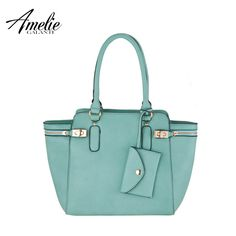 Solid color handle bag Butterfly type portable women bag