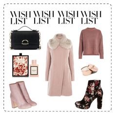 """#PolyPresents: Blush and Floral Wish List"" by audreypoe on Polyvore featuring Sole Society, Gucci, Charlotte Russe, Laurence Dacade, contestentry and polyPresents"