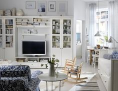 49 Simple But Smart Living Room Storage Ideas | DigsDigs. Always ...