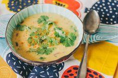 linssi-kookoskeitto / Hannan soppa