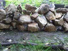 Un muro de piedra que levante yo mismo