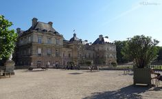 HD photographs of Jardin du Luxembourg free public gardens including its many different tourist attractions located in the Arrondissement of Paris. Palais Du Luxembourg, Luxembourg Gardens, Public Garden, Terrace, Westerns, Louvre, Chairs, Building, Travel