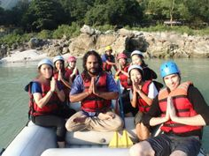 River Rafting during YTT course