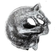 possible depiction of the Viking wolf Fenrir from Dublin, between the 9th and 11th centuries CE