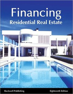 Finance Residential Real Estate 18th edition: Rockwell Publishing, Megan Dorsey, David Rockwell: 9781939259370: Amazon.com: Books