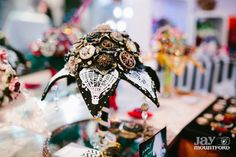 Eclectic Wedding Extravaganza: EWE 3 Photo By Jay Mountford Photography. Button bouquets by @jamball