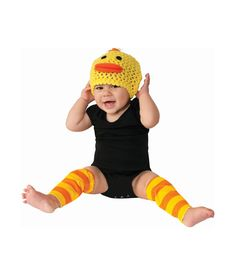 This Duck Dress-Up Set - Infant by Rubie's is perfect!