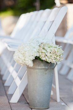 pretty ceremony aisle marker | Captured Photography #wedding