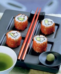 sushi  Wanna do this at home Try it Gluten Free