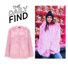 """""""Daily Find: Miss Selfridge Coat"""" by polyvore-editorial ❤ liked on Polyvore featuring Miss Selfridge and DailyFind"""