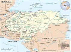 Mapa de Honduras - Buscar con Google